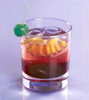 "Коктейль  ""Американо "" Ингредиенты налить в стакан олд фэшн, наполовину..."